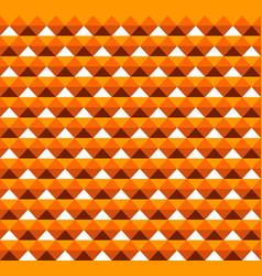 orange hawaiian tribal seamless pattern design vector image