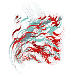 paint splashes abstract background vector image