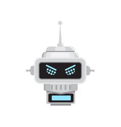 Robot emotion emoji vector