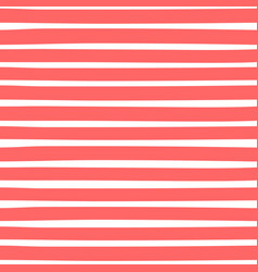 Seamless pattern with horizontal stripes vector