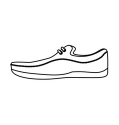 Shoe for men vector
