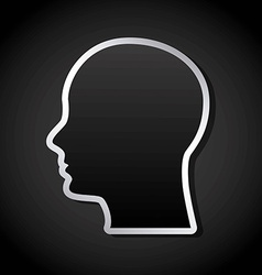 think design vector image