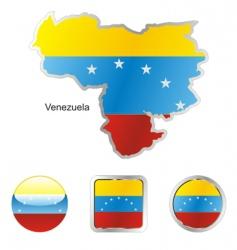 venezuela vector image