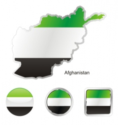 afghanistan vector image vector image