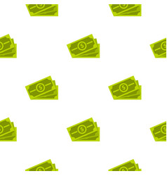 cash pattern flat vector image