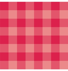 Seamless sweet red pink plaid background vector image vector image