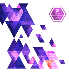 abstract background with geometric vector image