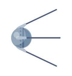 Artificial earth satellite cosmos exploration vector