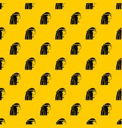 egyptian girl pattern vector image
