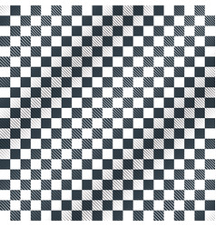 Floor checkerboard or finish racing car flag vector