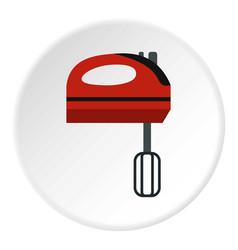 Mixer icon circle vector