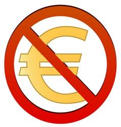 No euro vector