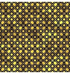 Seamless pattern Golden fashion background vector