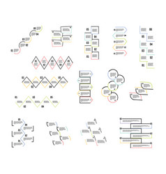 step by step design vector image