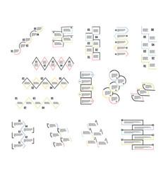 step step design vector image