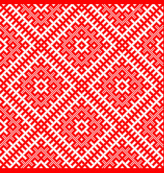 traditional ethnic russian and slavic vector image