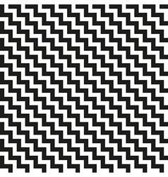 Chevron Zigzag diagonal seamless texture vector image vector image