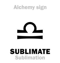 Alchemy sublimate sublimation vector