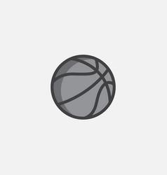 basketball logo de vector image