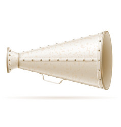 megaphone old retro vintage icon stock vector image