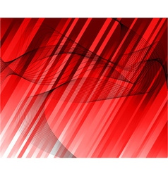 red ray background template vector image