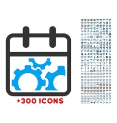 Technical Day Icon vector image
