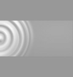 wavy circular pulsation milk water splash from vector image