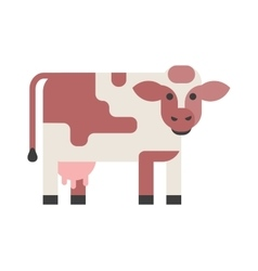 Cow isolated vector image