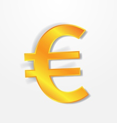 Euro currency signs vector image vector image