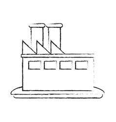 factory plant symbol vector image