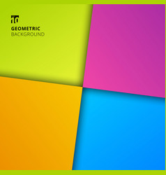 abstract background colorful geometric square vector image