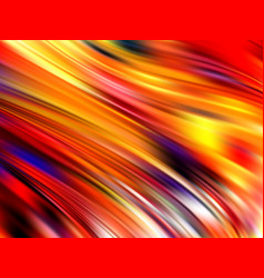 abstract colorful fluid design wave liquid vector image