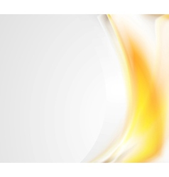 Bright abstract wavy design vector