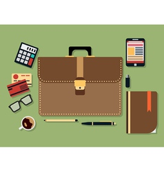 Business flat vector image