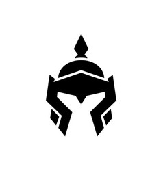 China helmet warrior logo icon design vector