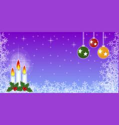 Christmas theme in cartoon vector
