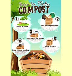How to make compost vector