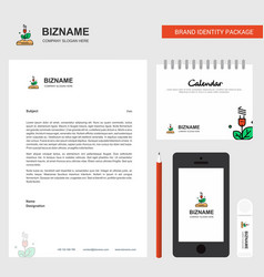power plant business letterhead calendar 2019 and vector image