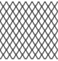 Seamless netting pattern vector