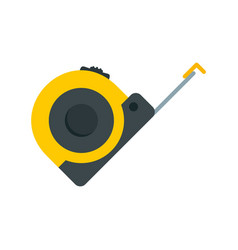 Tape measure icon flat style vector