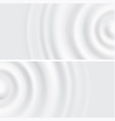 wavy circular pulsation liquid splash from vector image