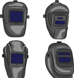 Welding mask vector