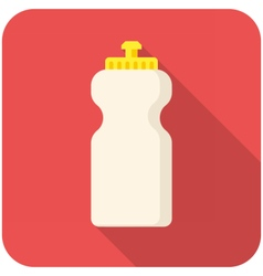 Bottle water icon vector image