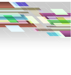 abstract background with colourful straight lines vector image vector image