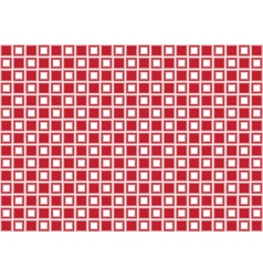 Red rectangle abstract background vector image