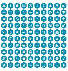 100 maternity leave icons sapphirine violet vector