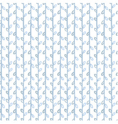 botanical tender ornamental seamless pattern vector image