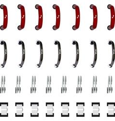 Set spiral binder vector