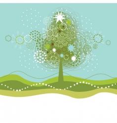 Christmas seamles illustration vector image
