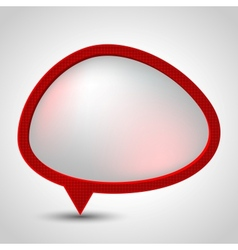 Modern Speech Bubble background vector image vector image